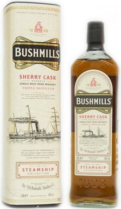 Irska whiskey Bushmills Sherry Cask 1l 40% GB