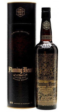 Skotska whisky Compass Box Flaming Heart 6th Edition 0