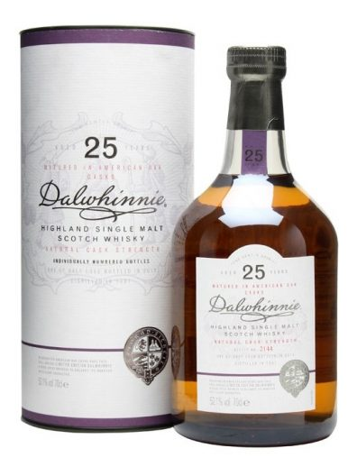 Skotska whisky Dalwhinnie Natural Cask Strength 25y 0