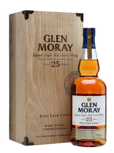 Skotska whisky Glen Moray Portcask 25y 0