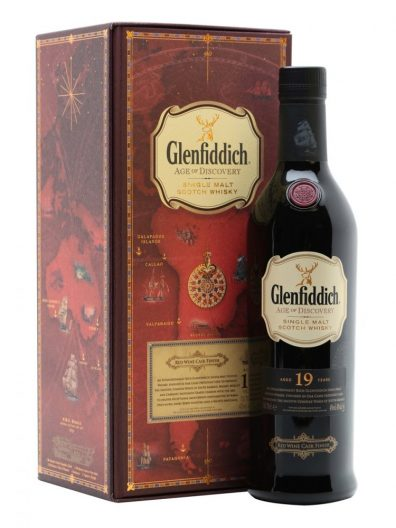 Skotska whisky Glenfiddich Age of Discovery Red Wine Cask Finish 19y 0