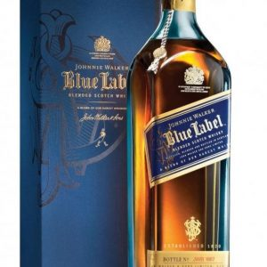 Skotska whisky Johnnie Walker Blue Label 60y 1l 40% GB