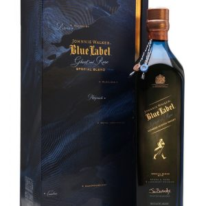 Skotska whisky Johnnie Walker Blue Label Brora And Rare 0