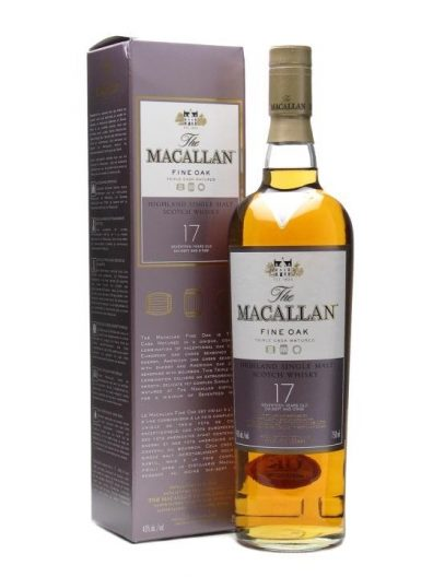 Skotska whisky Macallan Fine Oak 17y 0