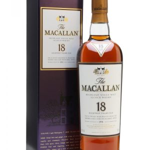 Skotska whisky Macallan Sherry Oak 18y 0