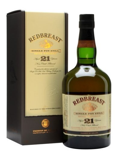Irska whiskey Redbreast 21y 0