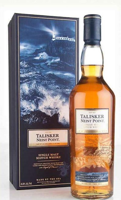 Skotska whisky Talisker Neist Point 0