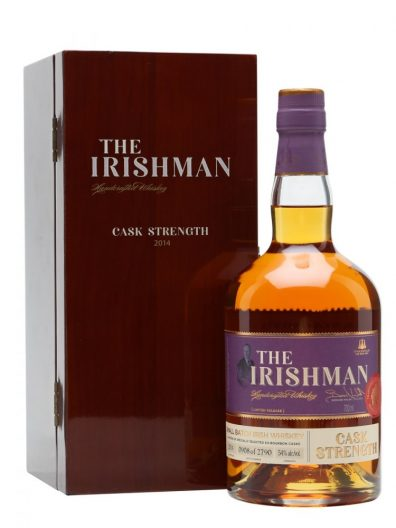 Irska whiskey The Irishman Cask Strength 2017 0