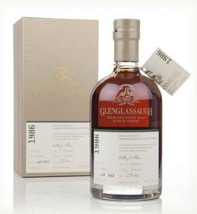 Skotska whisky Glenglassaugh Single Cask 30y 1986 0