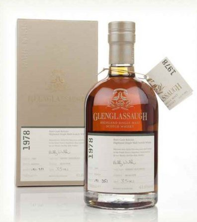 Skotska whisky Glenglassaugh Single Cask 38y 1978 0