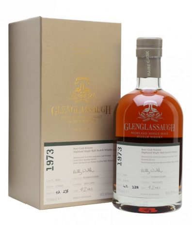 Skotska whisky Glenglassaugh Single Cask 42y 1973 0