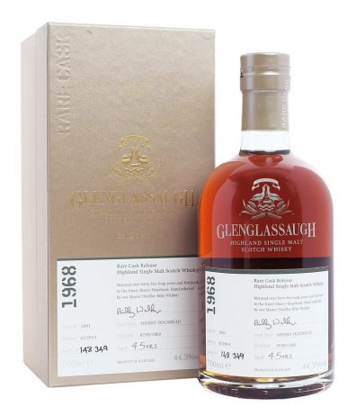 Skotska whisky Glenglassaugh Single Cask 47y 1968 0