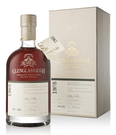 Skotska whisky Glenglassaugh Single Cask 50y 1965 0