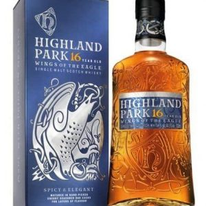 Skotska whisky Highland Park Wings of the Eagle 16y 0