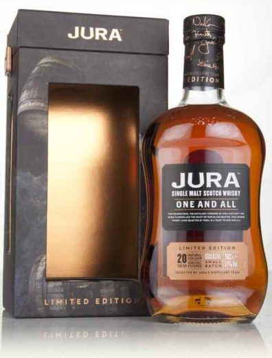 Skotska whisky Isle of Jura One and All 20y 0