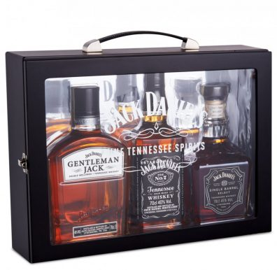 Americka whiskey Jack Daniel's Family box 3×0