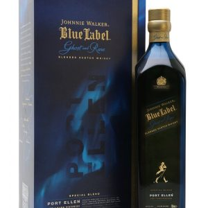 Skotska whisky Johnnie Walker Blue Label Ghost & Rare Port Ellen 0