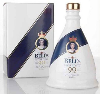 Skotska whisky Bell's Decanter Queen's 90th Birthday Decanter 0