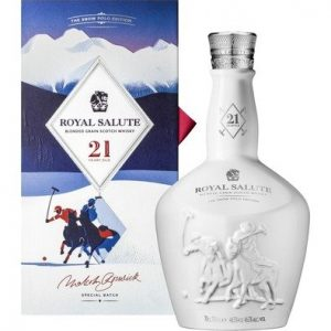 Skotska whisky Chivas Regal Royal Salute Snow Polo Edition 21y 0