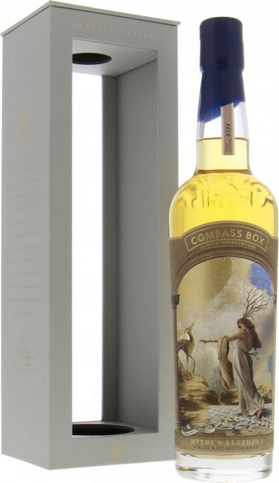 Skotska whisky Compass Box Myths & Legends I 0