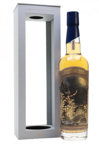 Skotska whisky Compass Box Myths & Legends III´ 0