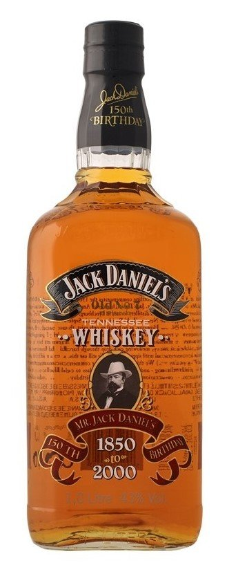 Americka whiskey Jack Daniel's 1850 to 2000 1l 43%