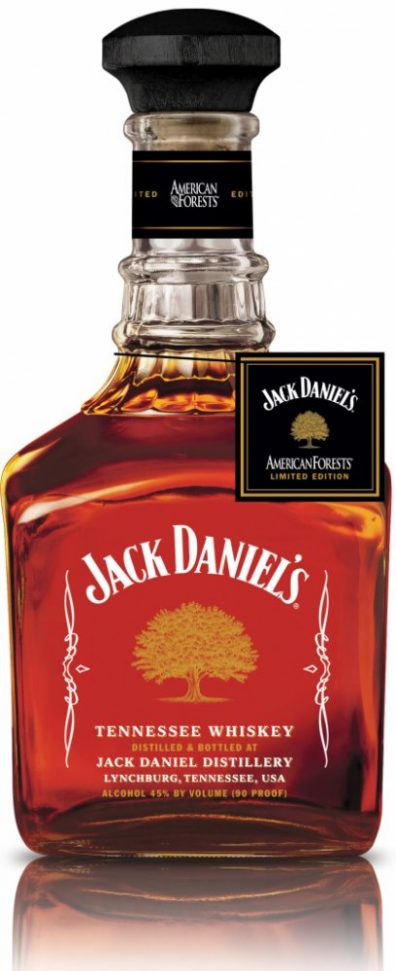 Americka whiskey Jack Daniel's American Forests 0