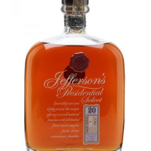 Americka whiskey Jefferson's Presidential Select 20y 0