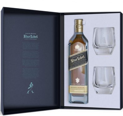 Skotska whisky Johnnie Walker Blue Label 60y 0