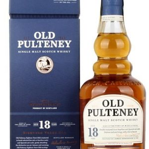 Skotska whisky Old Pulteney 18y 0