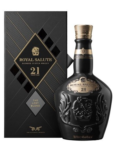 Skotska whisky Royal Salute The Lost Blend 21y 0
